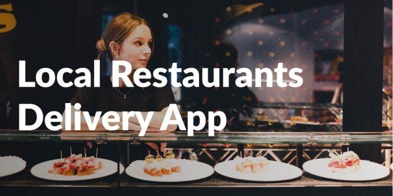 Shuup Multivendor Customer Success Stories - Multi-Vendor - Local Restaurants Delivery App