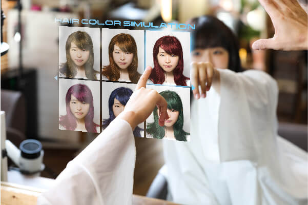 augmented hair color in a virtual reality marketplace vr shuup virtual marketplace-100
