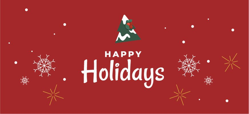 happy holidays from shuup