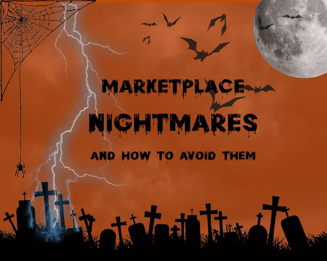 halloween shuup marketplace problems